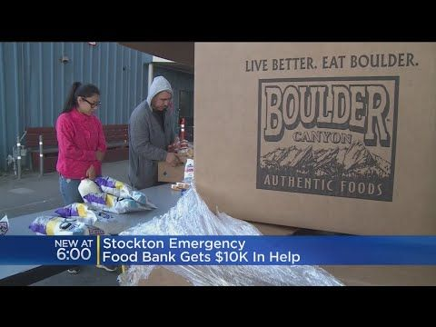 HIS MERCHANDISE ON eBAY SO HE CAN GET SOME EXTRA SALES AND TRY TO COMPETE ONLINE WE WISH THEM THE VERY BEST  HOW CONTINUES TO POUR IN FOR THE EMERGENCY FOOD BACON STOCKTON PRIDE INDUSTRIES HANDED THE FOOD BANK A CHECK FOR $10,000 THIS MORNING THE AGENCY ONLY HAD 30 TURKEYS TO FEED NEEDY...