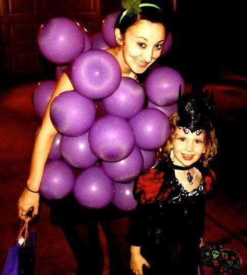 Weintrauben | 21 einfache Kostüme, die Du kurz vor Halloween noch schnell basteln kannst