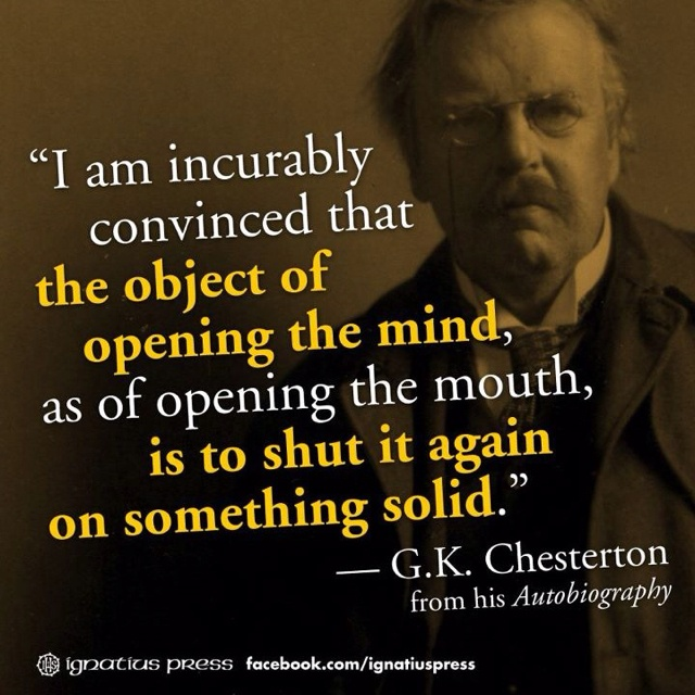 Image result for chesterton quotes