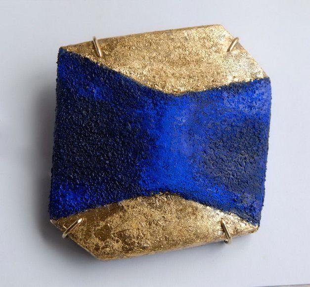 """""""Asymmetric connections"""" ,bronze,paper,pigment"""