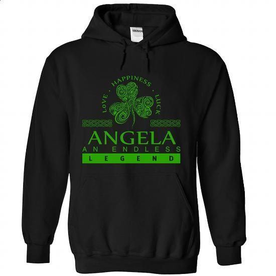 ANGELA-the-awesome - #long sleeve t shirts #white hoodie. BUY NOW => https://www.sunfrog.com/LifeStyle/ANGELA-the-awesome-Black-82174211-Hoodie.html?60505