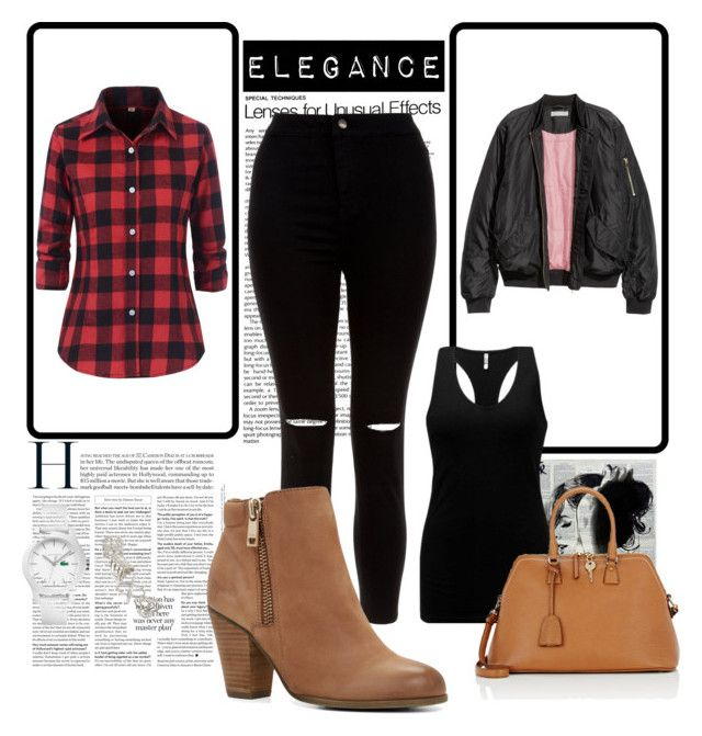 """fall#5"" by tanttu-haapop on Polyvore featuring H&M, New Look, BKE, ALDO, Maison Margiela, Lacoste and Topshop"