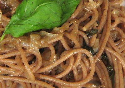 """Tortalia : Spaghetti di farro """"bio"""" alla cipolla di Tropea"""
