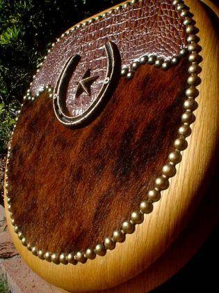 Alligator  Star Cowhide Western Toilet Seat   Western Decor by ...