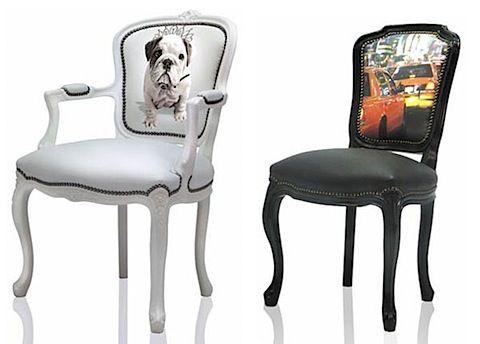 Pop Art Modern Furniture Funky Chairs