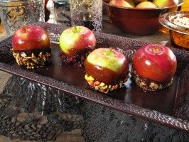 Designer Toffee Apples : Recipes : Cooking Channel