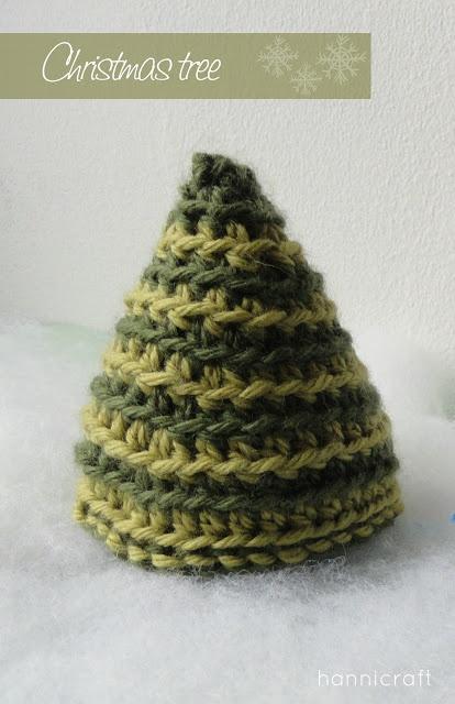 hannicraft: Crochet Christmas Tree