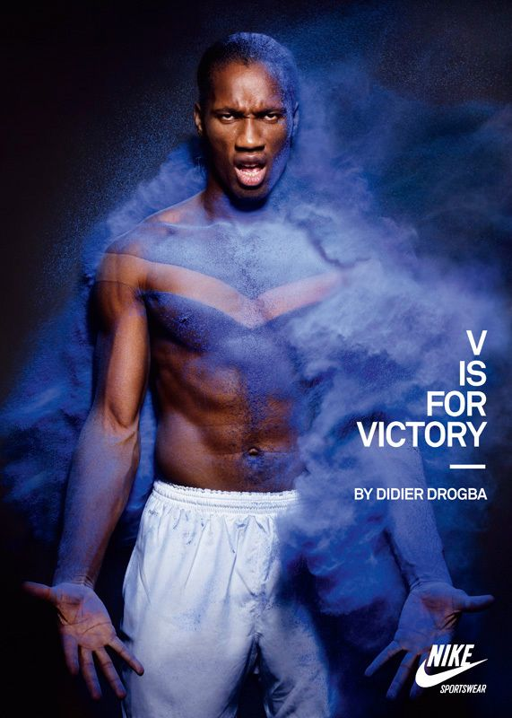 Nike Advertising V Is For Victory Sport Sold Our Book #marketingsportowy #marketingwsporcie