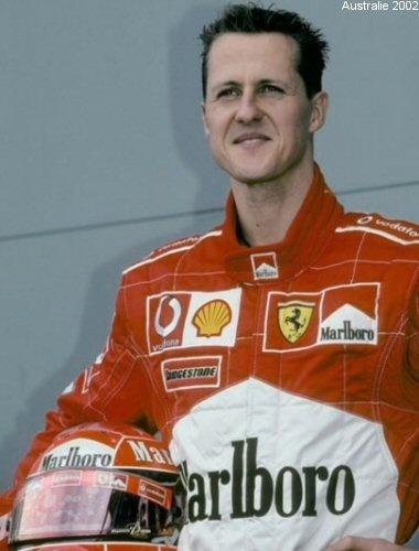 Michael SCHUMACHER •  Champion du Monde 2002