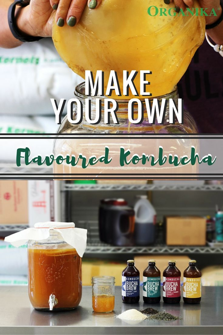 Kombucha is a fermented tea with probiotics and enzymes that helps relieve symptoms of heartburn, indigestion, and bloating. Learn how to make flavoured kombucha at home with this #recipe and enjoy a healthy alternative to soda!