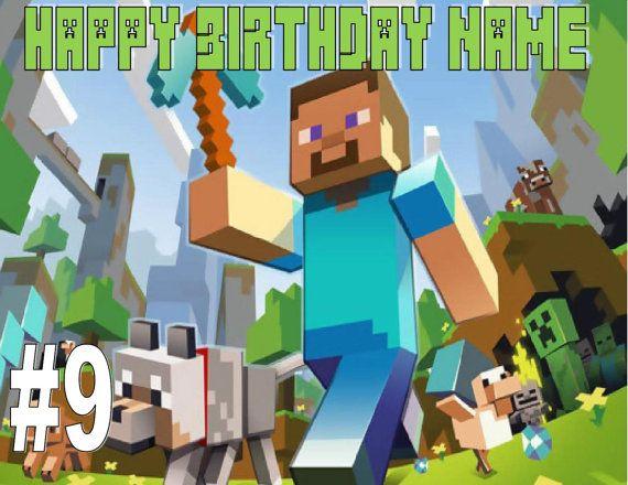 17 Best Images About Jaden Bday Ideas Minecraft On
