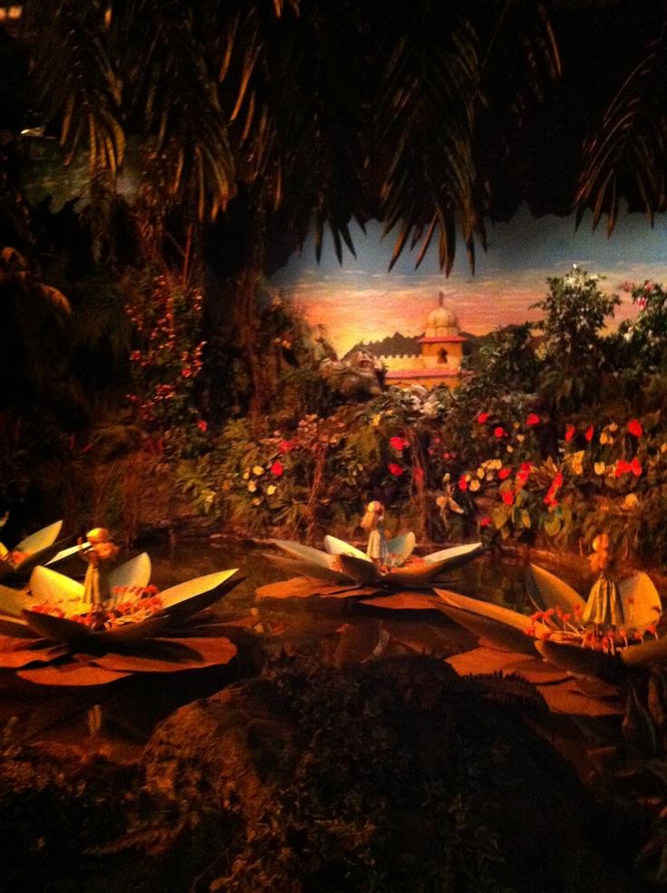 Efteling Indische waterlelies sprookjesbos
