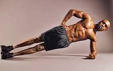 Resultado de imagen de ejercicios abdominales laterales