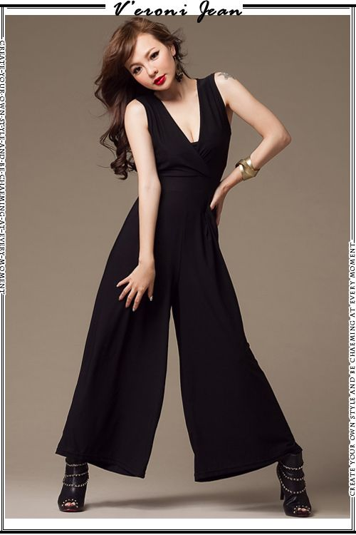 EY50501-BLACK | Butik Fashion Import Murah | Supplier,Grosir Baju Tas Import Online ™. http://www.deluxezoneshop.com/fashions-clothes/jumpsuit/EY50501-BLACK