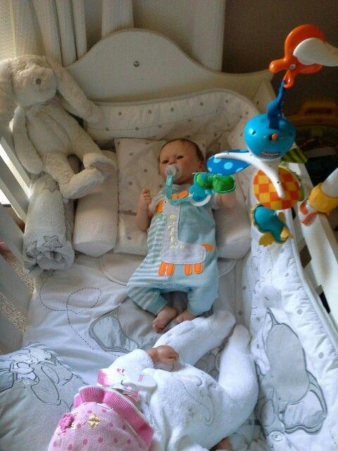 Cindy naude reborn baby, made by Janita Strydom