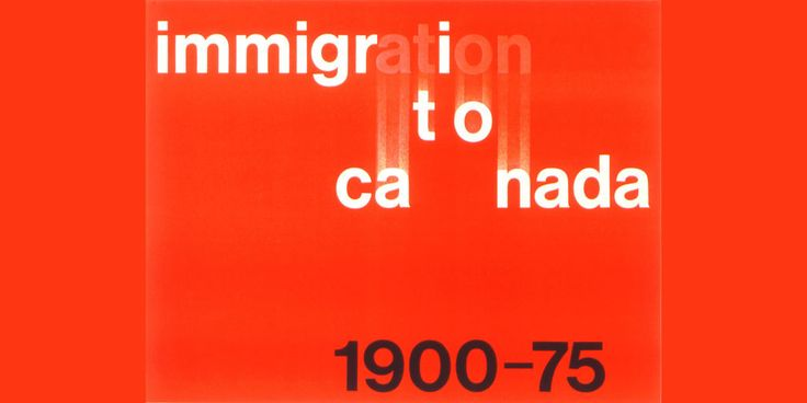 The Surprising History of Canada's Most Iconic Designs | Roch's design for a 1975 immigration brochure.  | Credit: Ernst Roch | From Wired.com