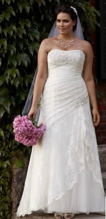 671 best big girls wedding dresses images on Pinterest