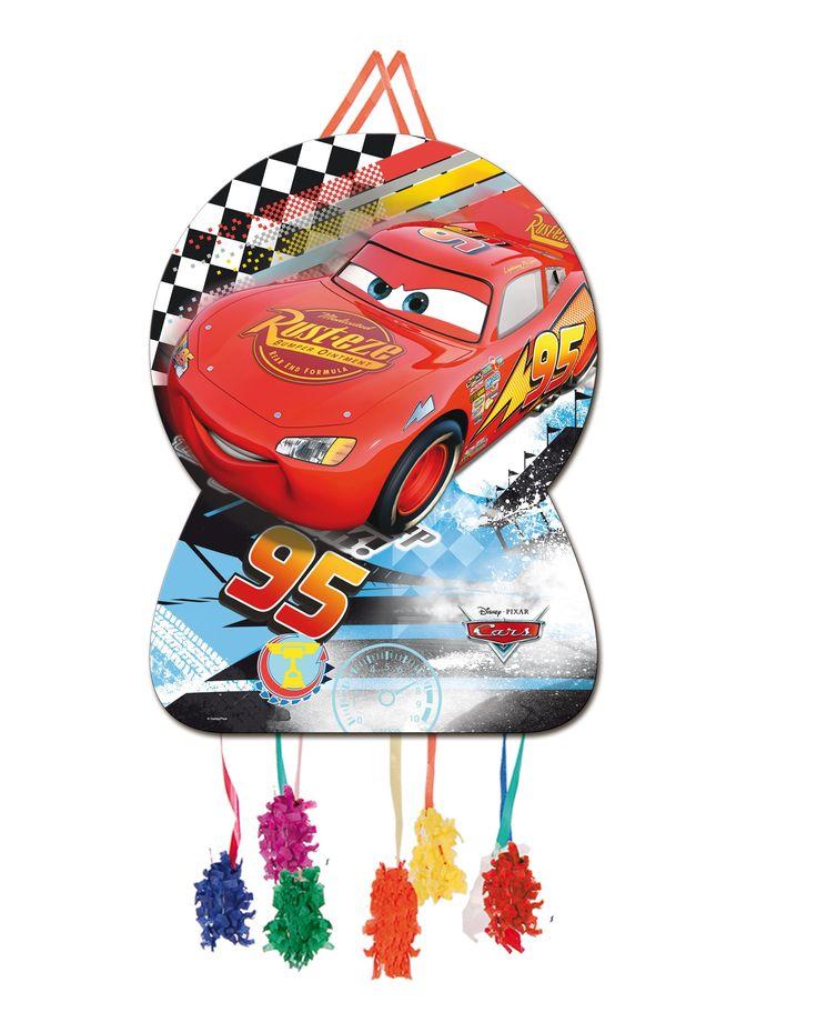 Piñata super grande para cumpleaños o fiestas temáticas de Cars!! También las tenemos en otros tamaños, y muchos complemtos para decorar tu fiesta #fiestadecars #cars #cumpleañoscars #cumpleañosdecars #decoracionfiesta #fiestastematicas #cumpleañosinfantiles #chiquiparty #fiestasbonitas #globoscars #rayomcqueen #veladecars