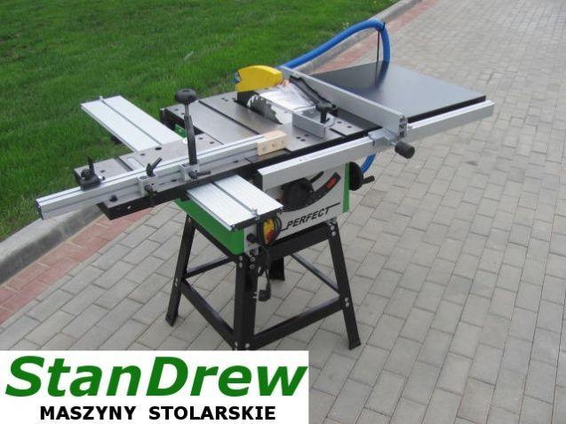Piła tarczowa PROFESIONAL z wózkiem SB 200 DS - STANDREW - maszyny stolarskie dla profesjonalistów - nowe i używane