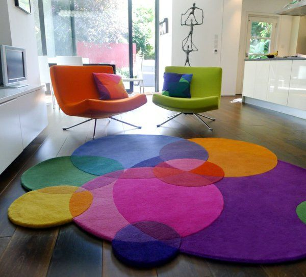 les 25 meilleures id es de la cat gorie tapis multicolore sur pinterest tapis multicolores. Black Bedroom Furniture Sets. Home Design Ideas