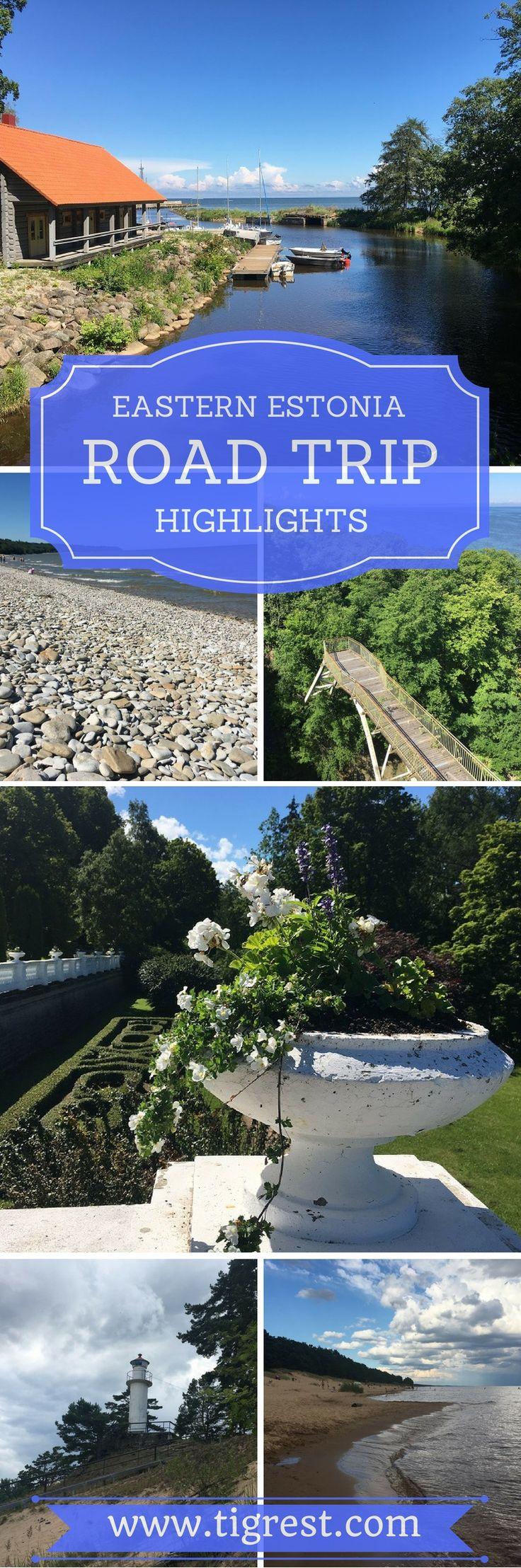 Exploring Eastern Estonia - one day road trip to Ontika, Toila and Oru Park, Blue Hills museum and war cemetery, lake Peipus and Kauksi beach