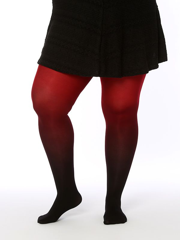 Hand dyed superb quality plus size ombre tights. . . . .  #plussize #curvy #fashion #tights #sexy