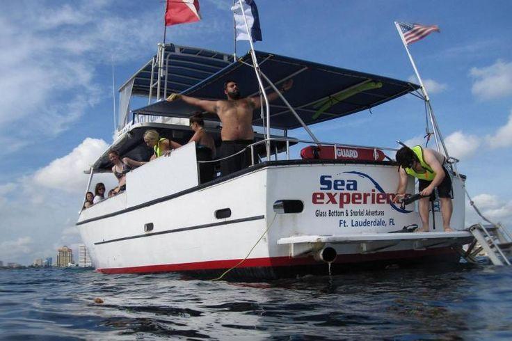Pompano Beach, Florida Snorkel and Glass Bottom Boat Trip near Pompano Beach, Florida | WaterplayUSA