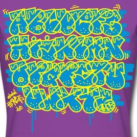 ABC One Liner Graffiti Shirt   HMDZ D-