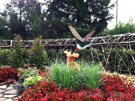 Huntsville Botanical Gardens, Alabama, USA.