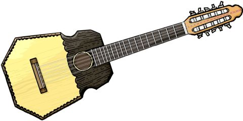RONROCO El ronroco es un instrumento musical de Cochabamba, Bolivia, de la familia de los charangos.[1] Está formado por cinco cuerdas dobles.[2] Este instrumento se caracteriza por su sonido ronco y es por ello que tiene ese nombre. Fue desarrollado por Wilson Hermosa,[3] hermano de Gonzalo y Elmer Hermosa miembros del grupo boliviano Los Kjarkas.  Es un charango grande de aproximadamente 80 cm de longitud total[2] y de cuerda vibrante de hasta 50 cm. Afinación temple natural pero una…