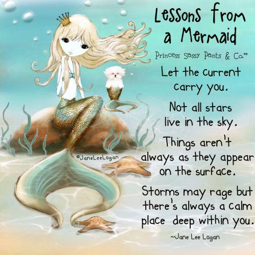 Princess Sassy Pants ~  Lessons from a Mermaid