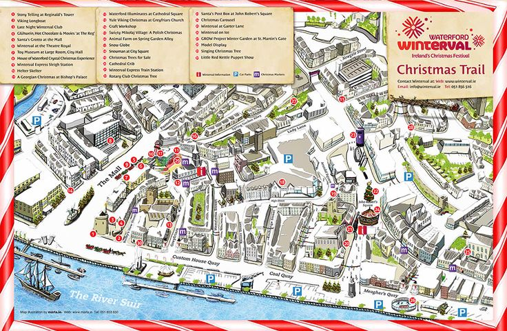 Navigate your way through the 30 events across the Winterval Trail #Winterval