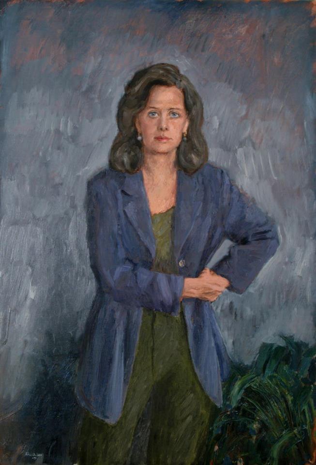 Porträtt målat av Bertram Schmiterlöw