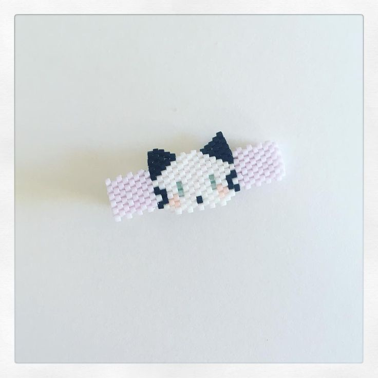 Chat - barrette (Lulu and the Little Pea)
