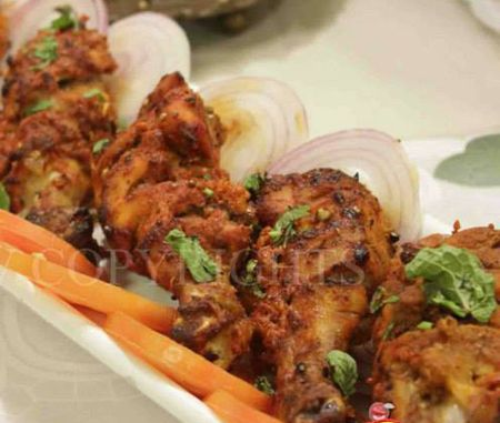 Indian Style Drumsticks by Chef Shireen Anwar