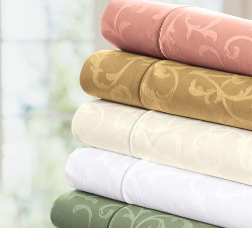 抗菌・防臭加工された生地を使用したおしゃれな掛け布団カバー。