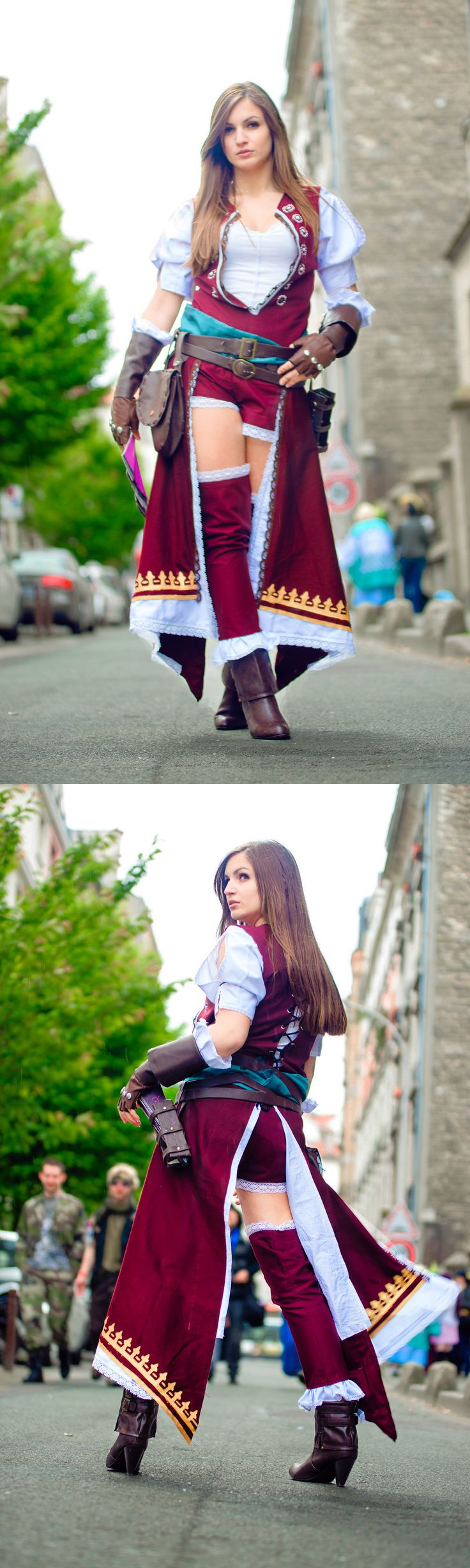 Fiora Cavazza #cosplay from Assassin's Creed Brotherhood