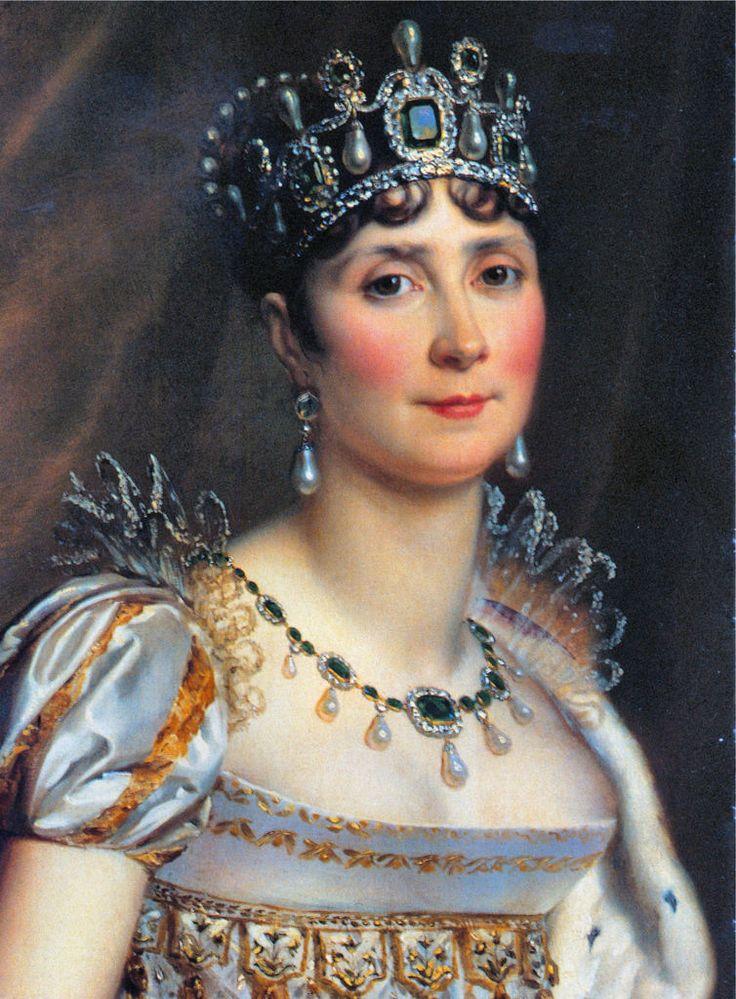 Joséphine de Beauharnais the first empress of France Josephine Bonapart...