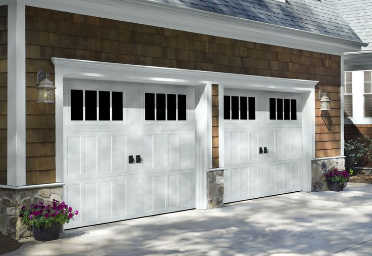 Unique Carriage House Style Garage Doors #4 Garage Door Styles ...