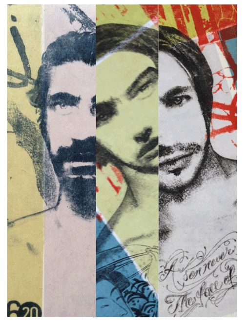 Artist Carmine Santaniello