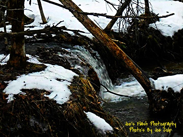 Small waterfall taken off the Chutes Trail East of orrville Ontario