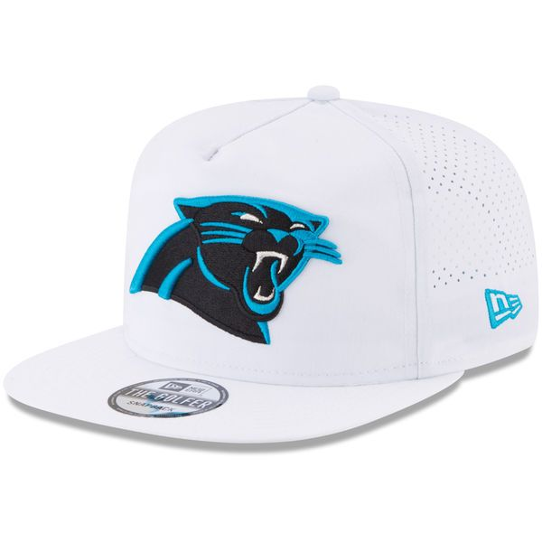 Carolina Panthers New Era 2017 Training Camp Official A-Frame Golfer Hat - White - $33.99