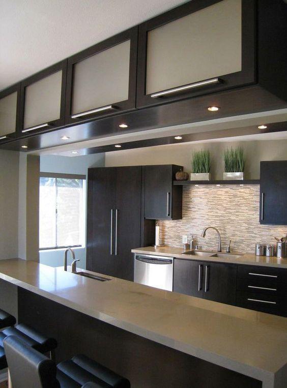 Tendencia en decoracion de cocinas modernas cocinas for Diseno de interiores para cocinas pequenas