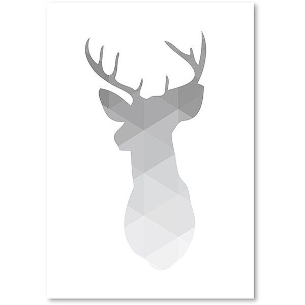 Americanflat Melinda Wood Collection Gray Deer Wall Art ($17) ❤ liked on Polyvore featuring home, home decor, wall art, minimalist home decor, wood wall art, inspirational home decor, motivational wall art and wood home decor