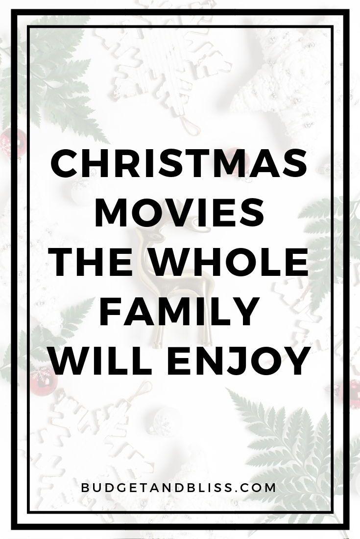 15 Festive Christmas Movies You Need To Watch Plan Save Play Christmas Movies Diy Christmas Gifts Cheap Christmas On A Budget