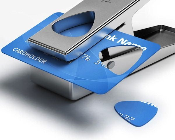 Simultaneously destroy AND repurpose those old credit cards! > DIY Guitar Pick Punch – $17