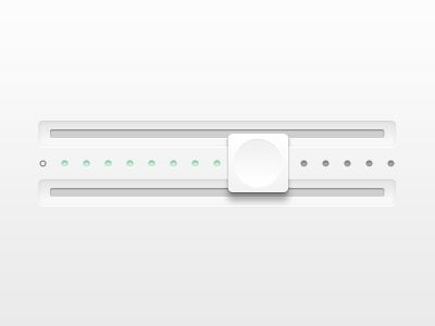 white slider
