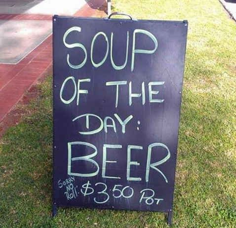 The Aussie Gazpacho. | 47 Signs You'll Only See In Australia