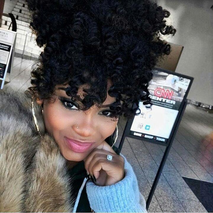 Tag the cuteness!  #curlyhair #fauxlocs #locs #braids #twists #   – box braids and headwraps