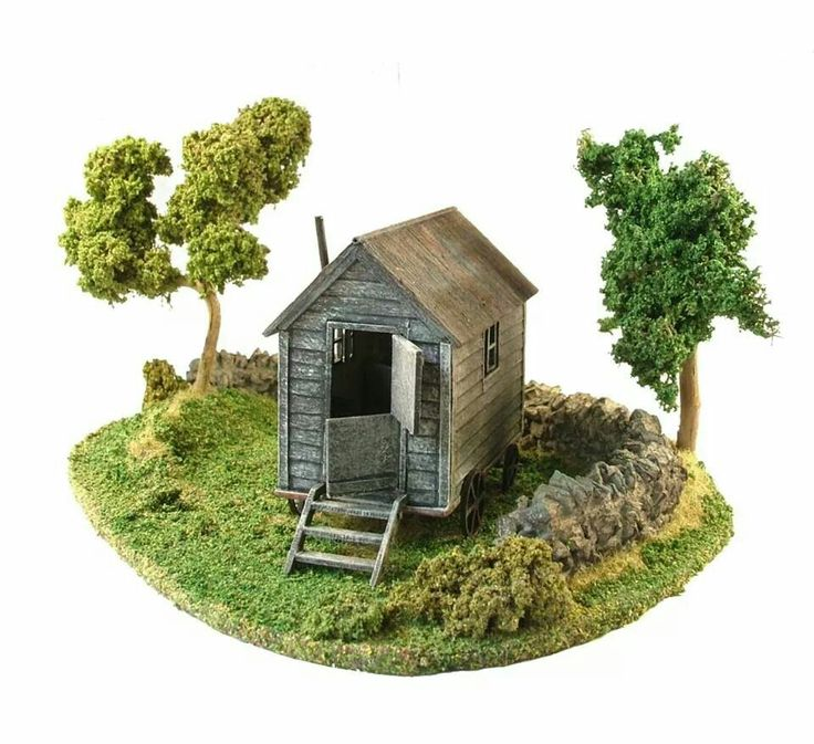 Diy Miniature Doll House Flat Packed Cardboard Kit Mini: 20 Best Petite Properties Images On Pinterest